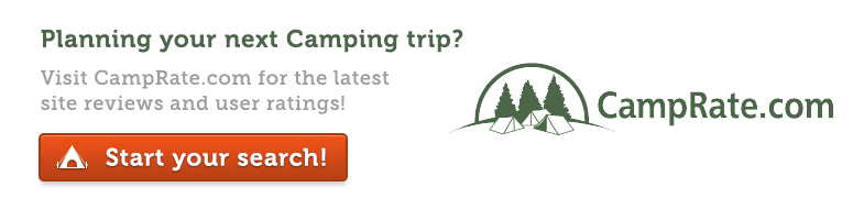 Planning your next Camping trip? Start your search at CampRate.com